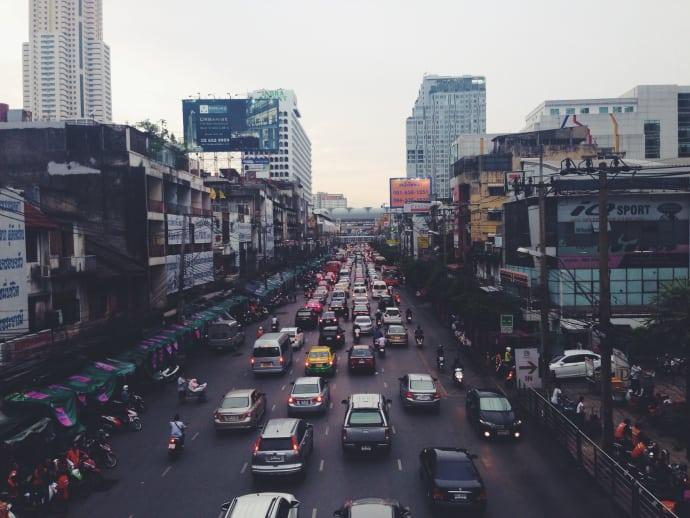 Flest olyckor sker i Thailand